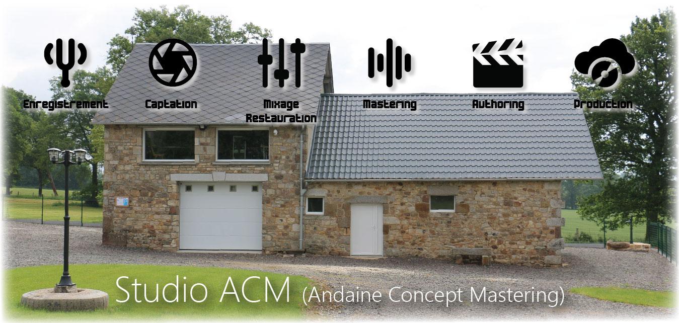 studio acm andaine concept mastering l 39 atelier du son. Black Bedroom Furniture Sets. Home Design Ideas